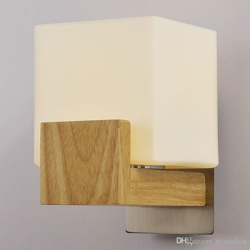 Rustic Single Wooden Wall Lights