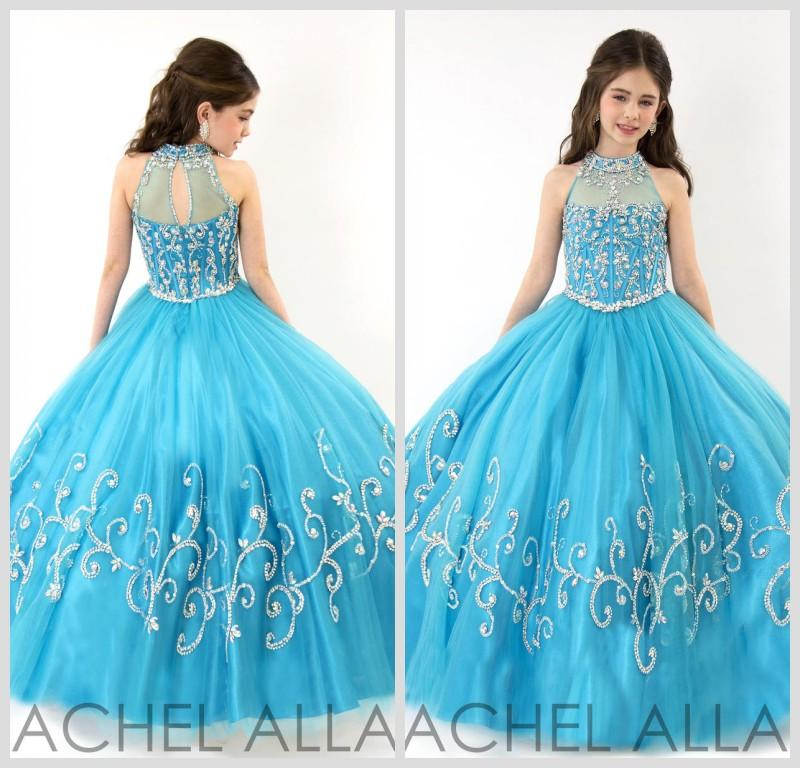 Where to Buy Girls Long Pageant Gowns Dress Online? Where Can I ...