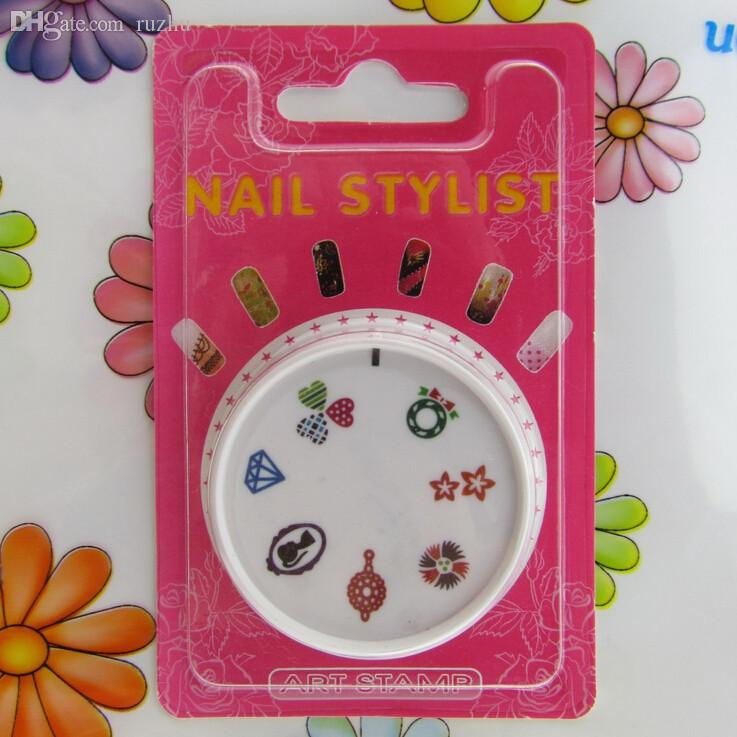 Wholesale cute konad nail art stamping plates polish styling tools wholesale cute konad nail art stamping plates polish styling tools printing image template colorful crystal love heart lady design sa14 art pipe art scope prinsesfo Choice Image