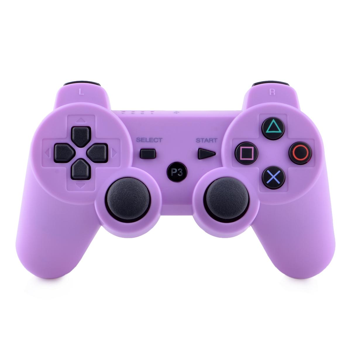 Purple Ps3 Controller Purple Wireless Blueto...