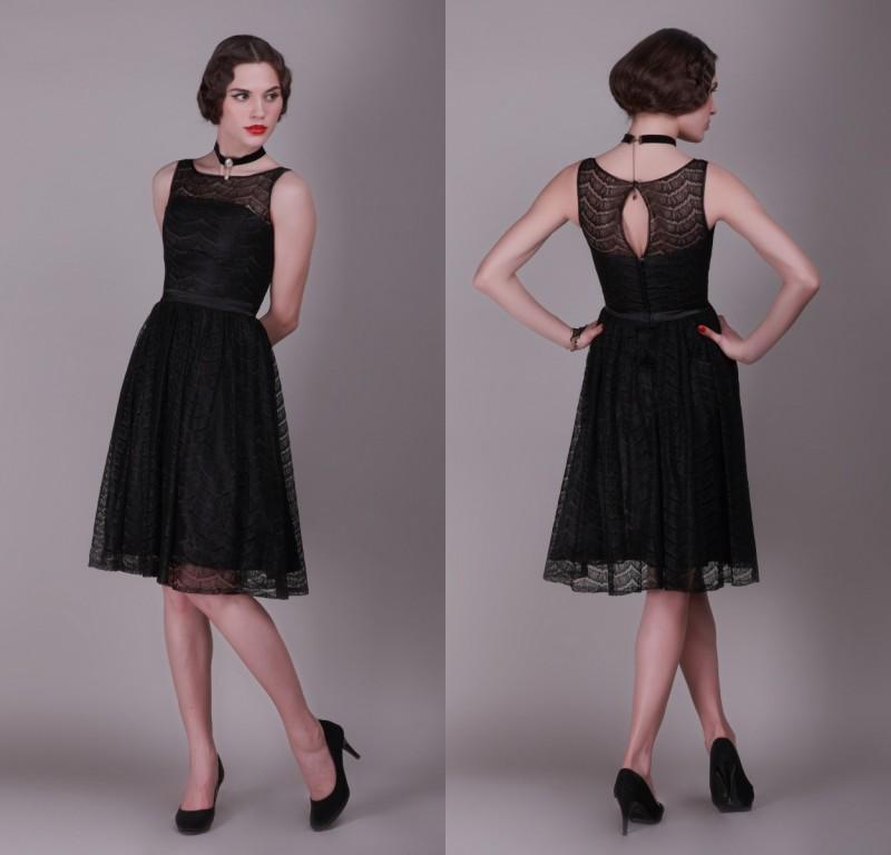 2015 black lace cheap short bridesmaid dresses under 100 for Short cheap wedding dresses under 100