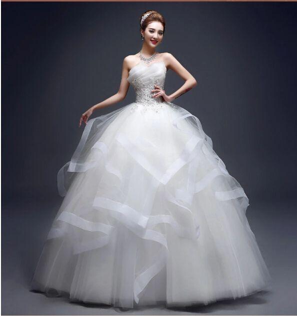 2015 wedding dresses ball gown wedding dress backless for High end designer wedding dresses