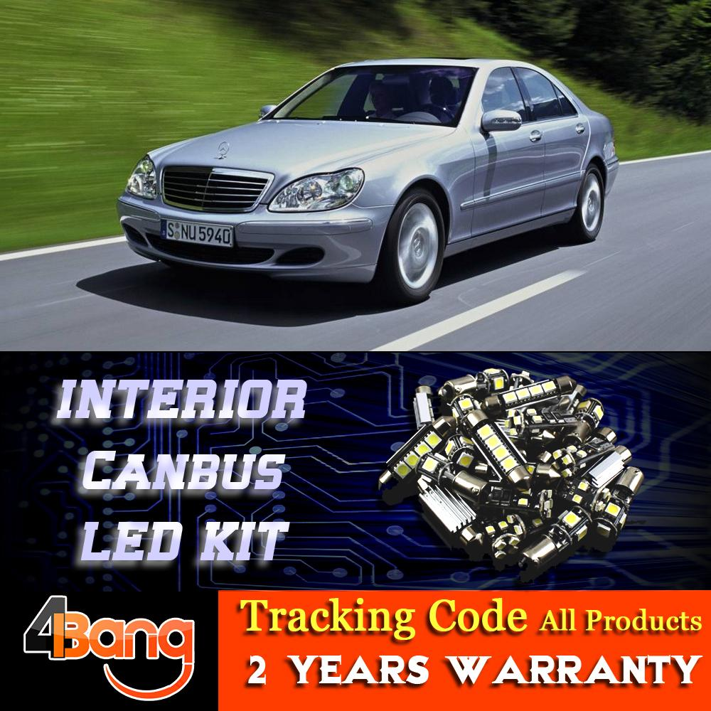 2017 for mercedes benz s class w220 1999 2005 car canbus for Mercedes benz upholstery kits