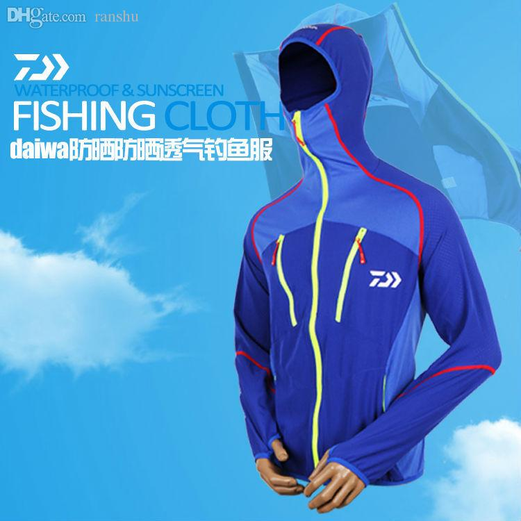 Best wholesale daiwa brand new sun protection fishing for Best fishing clothing