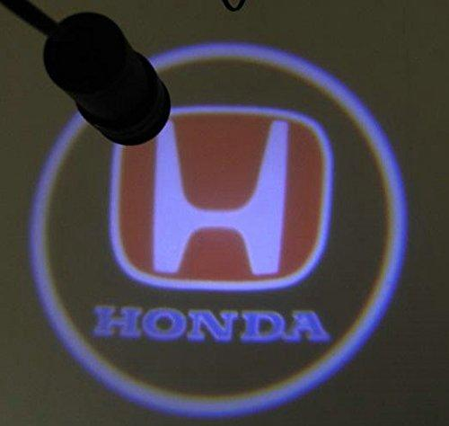 Hot Sell 4th 1Pairs pour Honda Car 3D Welcome Projecteur de porte lumineuse Lase