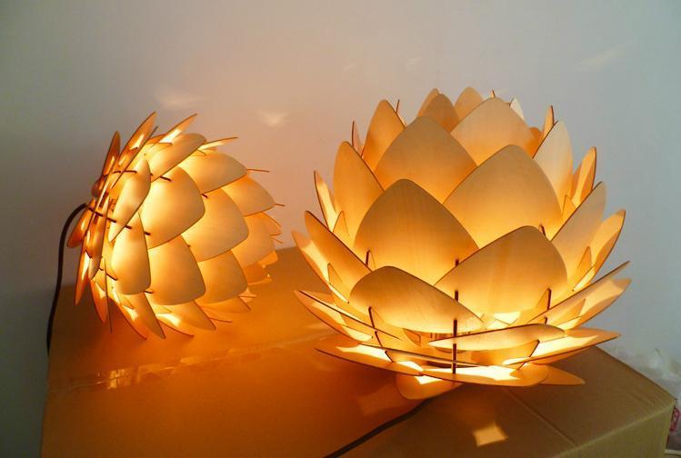 Perline disegno soffitto : ... Te : Moderno pavel eekra luce pendente di disegno lampadari fai da te