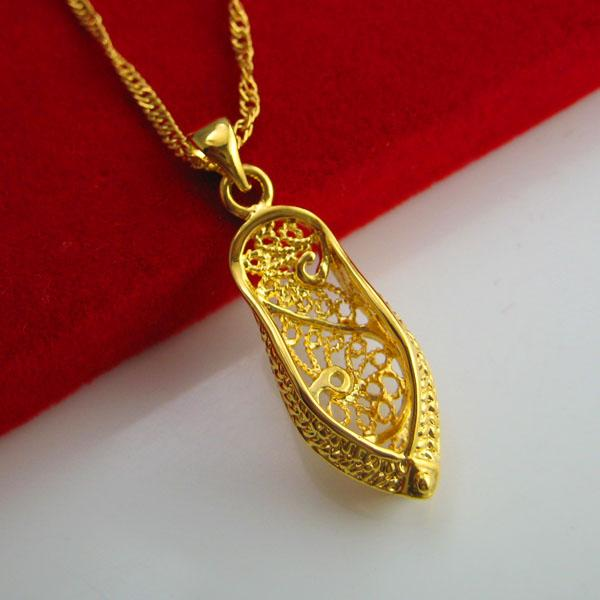 gold does not fade 24k gold plated imitation gold necklace