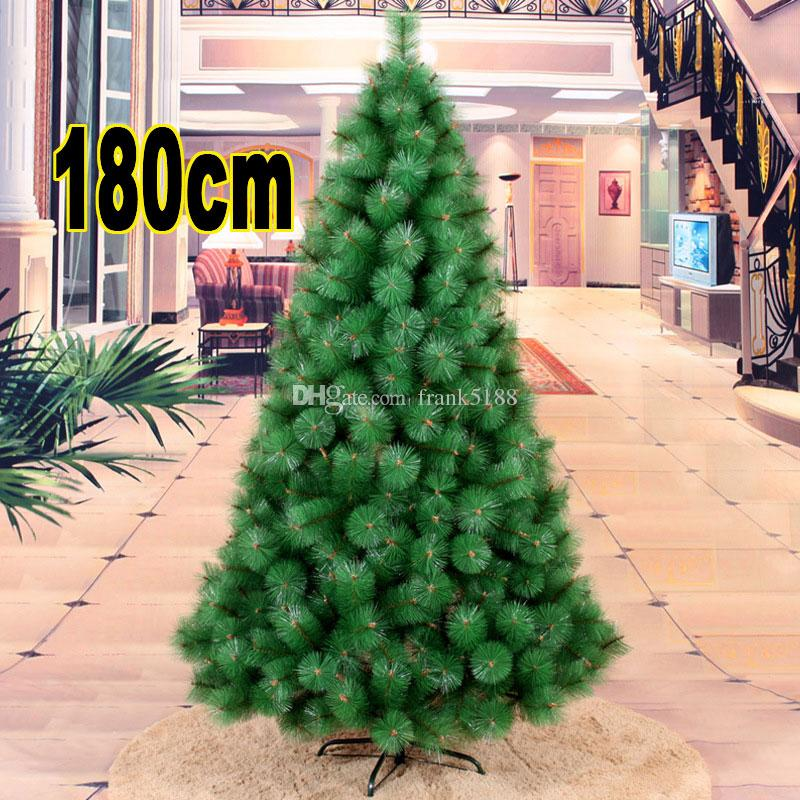 180cm christmas decoration tree artificial simulation christmas trees 6 foot green style trees party supplies christmas tree 6 foot green style trees 180cm - Cheap Christmas Trees Online