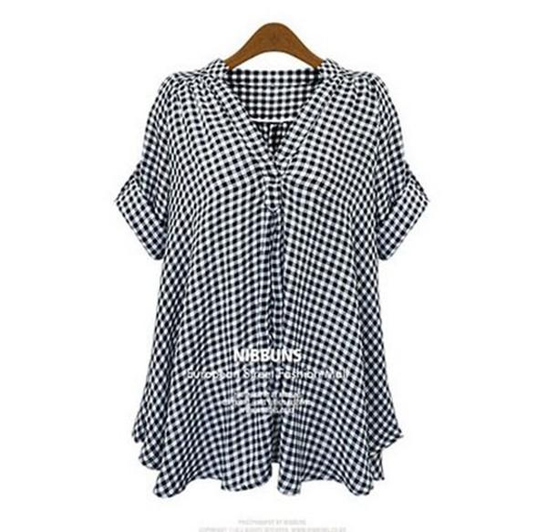 Stand Color Blouse Designs : New shirt designs casual stand up collar short sleeve