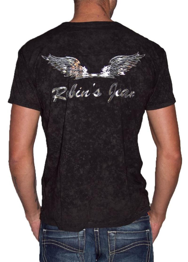 New fashion robin men 39 s cotton t shirts robin jeans men t for 17 33 shirt size