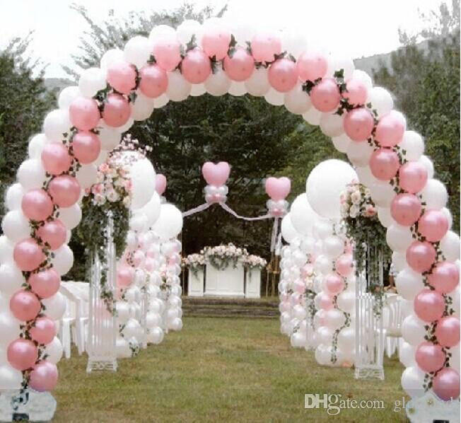 discount balloon frames wedding layout props balloon arch folding arch frame free shipping