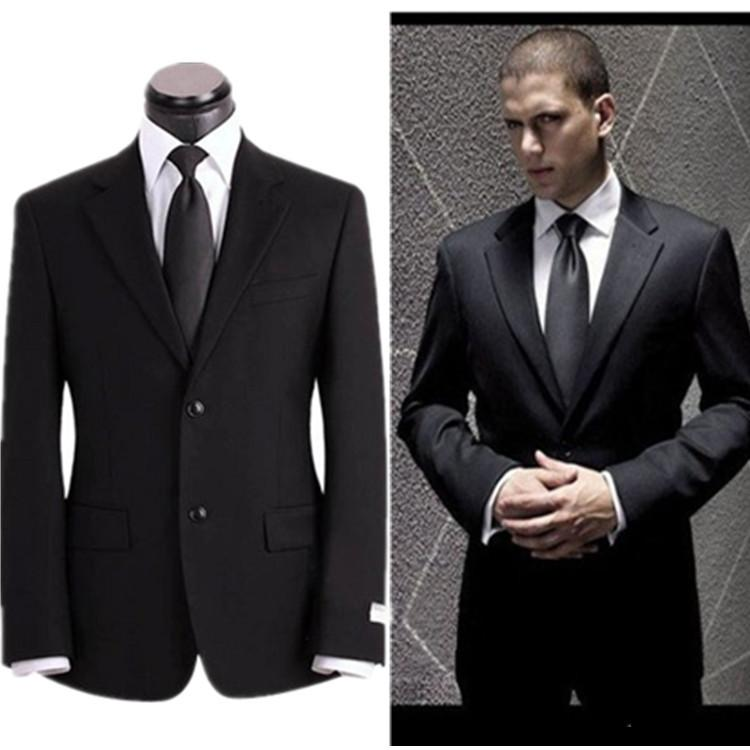 Men's Slim Fit White Blazer Suit Jacket Business Professional ...