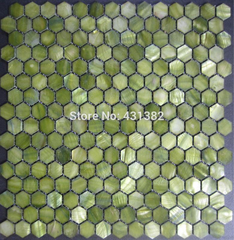 2017 Hexagon Tile Pearl Mother Of Pearl Tile Hexagon 20mm