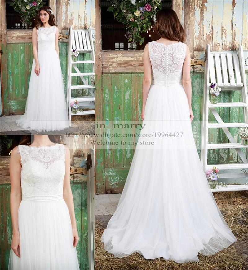 Rustic Country Plus Size Wedding Dresses 6