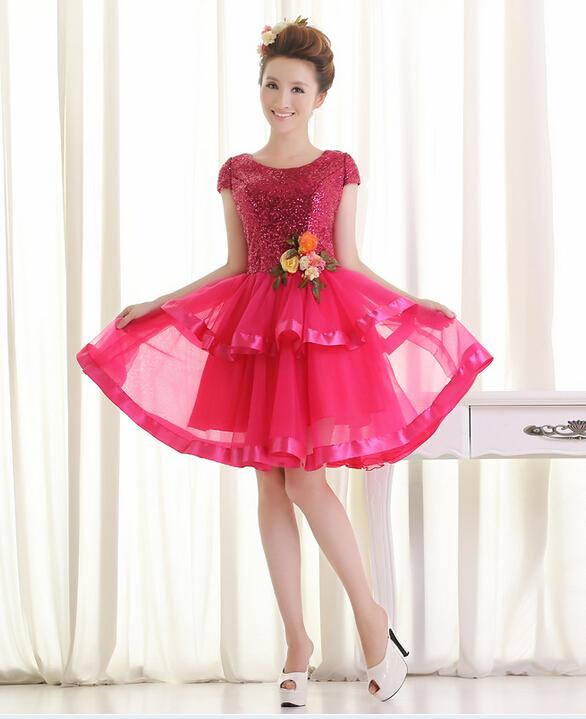 Wholesale Sweet 16 Dresses Short Hot Pink - Buy Cheap Sweet 16 ...