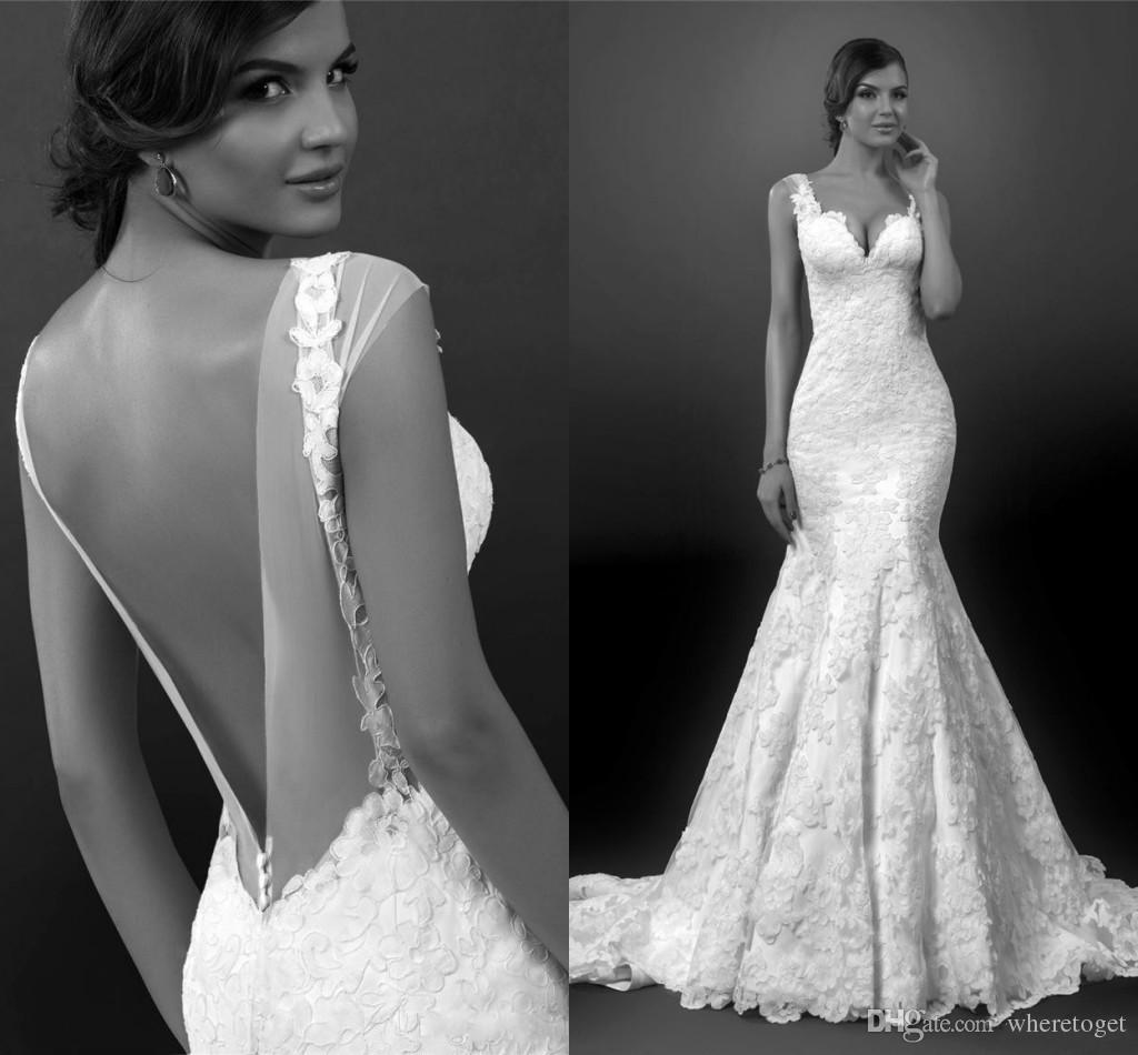 Sexy lace wedding dresses 2015 sexy backless wedding for Very sexy wedding dresses