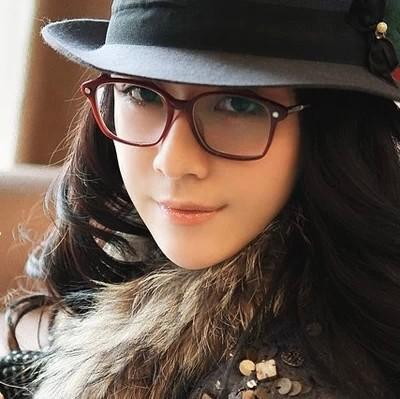 men and women glasses myopia tide big box retro wild round little face long face square face frames cl1218 online eyeglasses discount sunglasses from