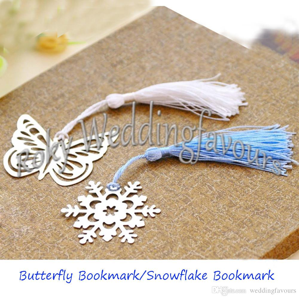 Winter Wedding Favors Snowflake -  hollow out snowflake bookmark bridal shower xmas gifts wedding favors winter theme party favors snowflake bookmark bridal shower snowflake bookmarks xmas