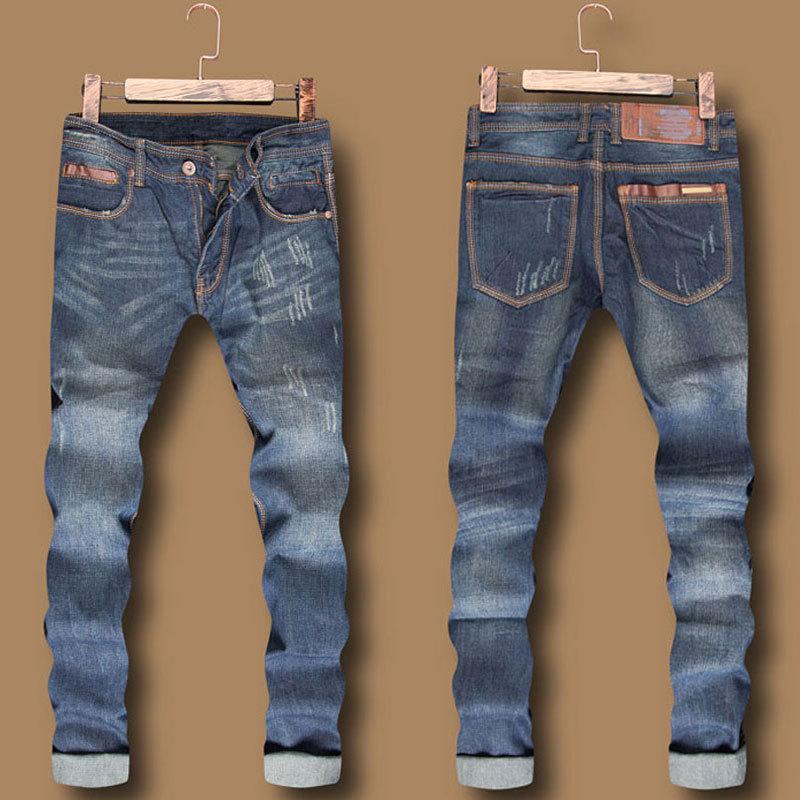 Best Italian Fashion Designer Mens Jeans Straight Dark ...