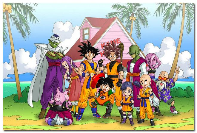 Goku   Dragon Ball Z Family 2015 Anime Art Silk Poster 24x36  Room Decor. 2017 Goku Dragon Ball Z Family 2015 Anime Art Silk Poster 24x36