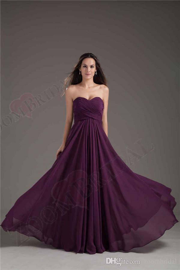 Grape Colored Prom Dresses - Gown And Dress Gallery