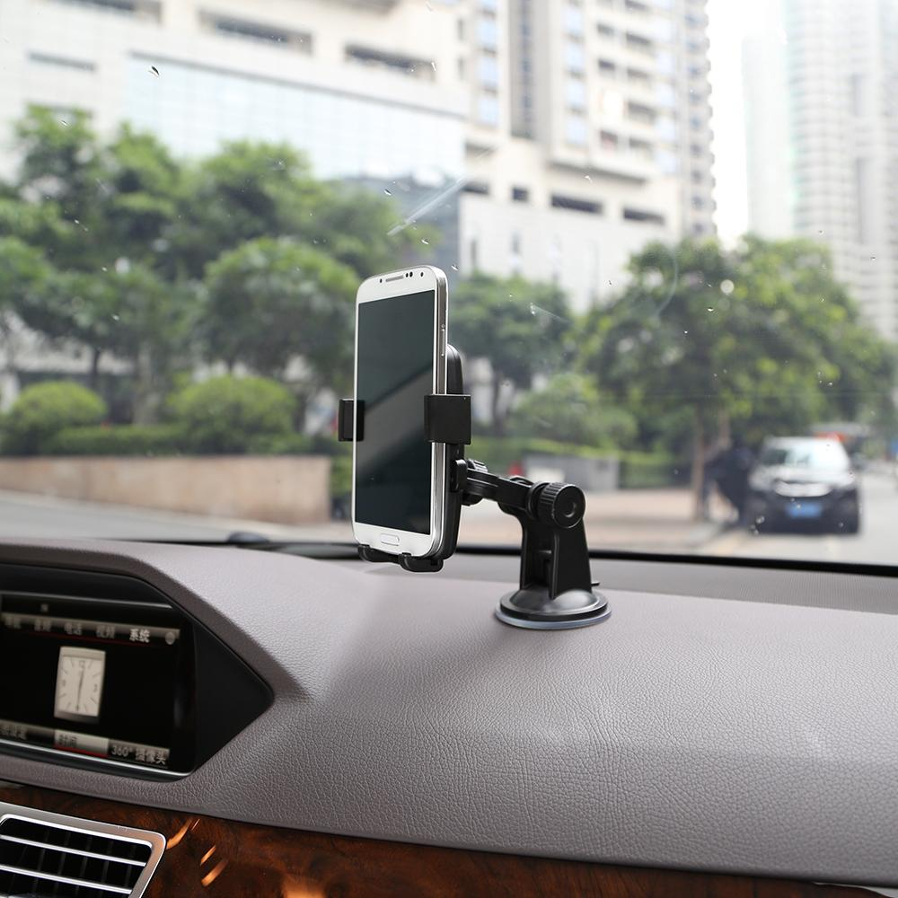 TKOOFN Car Mount Holder pour Apple iPhone 6 5 Galaxy S4 Smartphone Auto Motor Mo