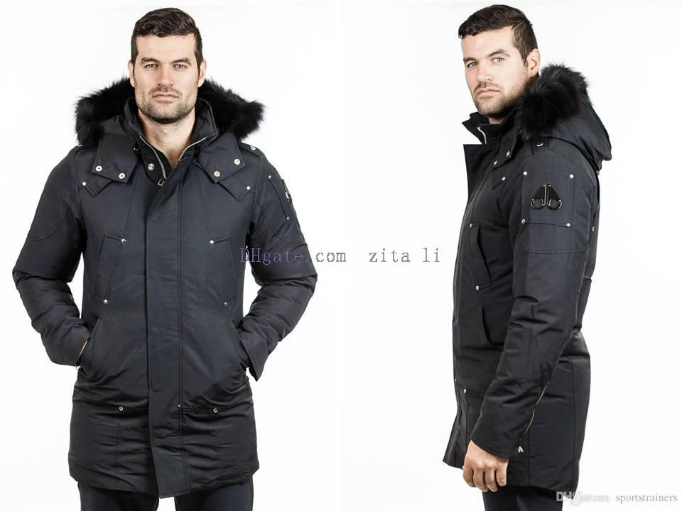 Canada Moose Knuckles Men's Stirling Parka Winter Long Down Jacket ...