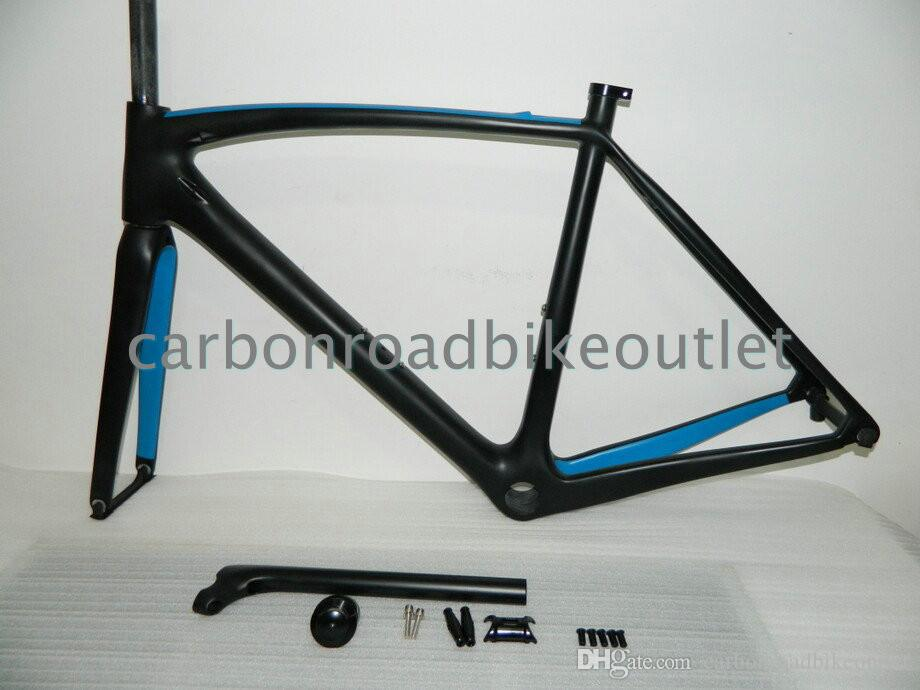 1k 3k carbon road bike frame bob real carbon fibre sky team bicycle framesets 4446553495557cm sky team carbon bike frame t1000 29er frame 18 inch