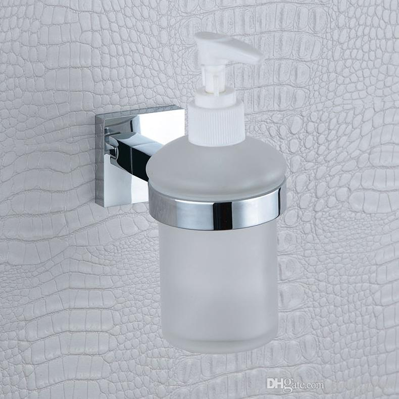 2017 liquid soap dispenser pump wall mount refill built in for Liquid soap dispenser for bathroom