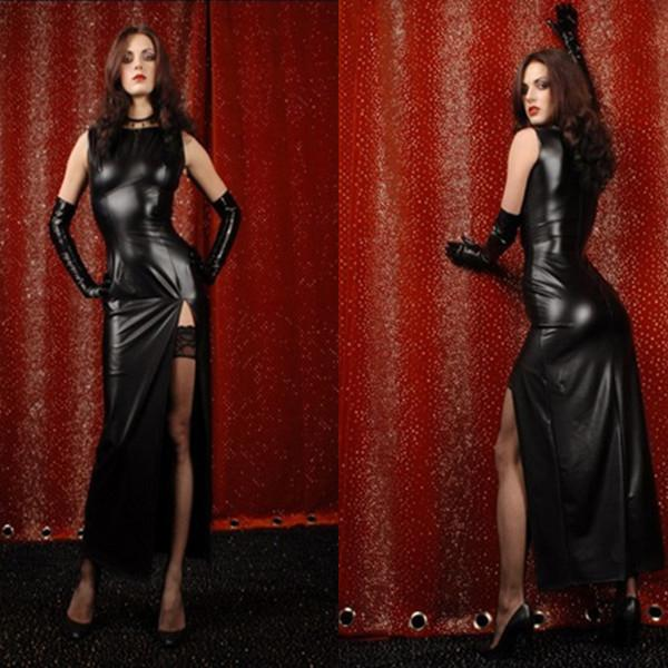 Long Tight Leather Dresses Suppliers - Best Long Tight Leather ...