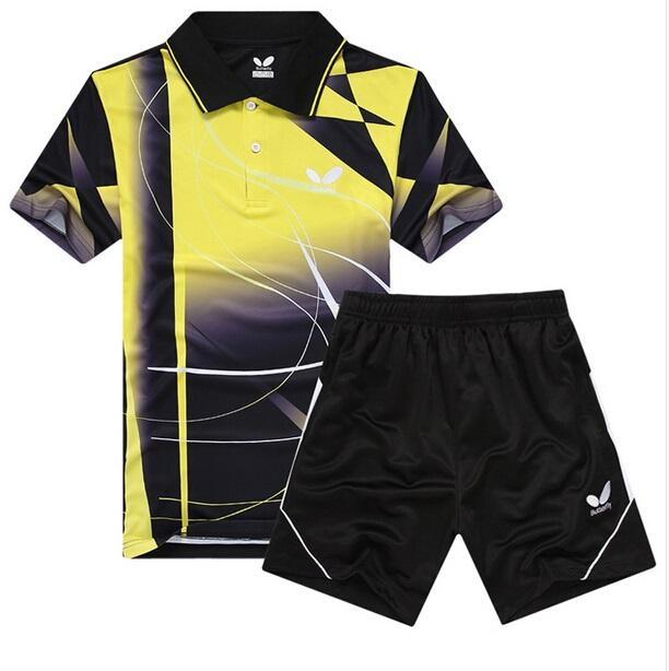2018 wholesale 2015 butterfly men 39 s table tennis clothing for Table tennis shirts butterfly