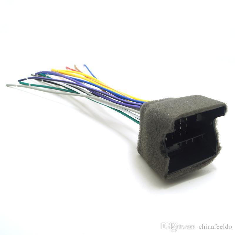 LEEWA Car CD Player Radio Audio Stereo Wiring Harness Adapter Plug – Dodge Car Stereo Wiring