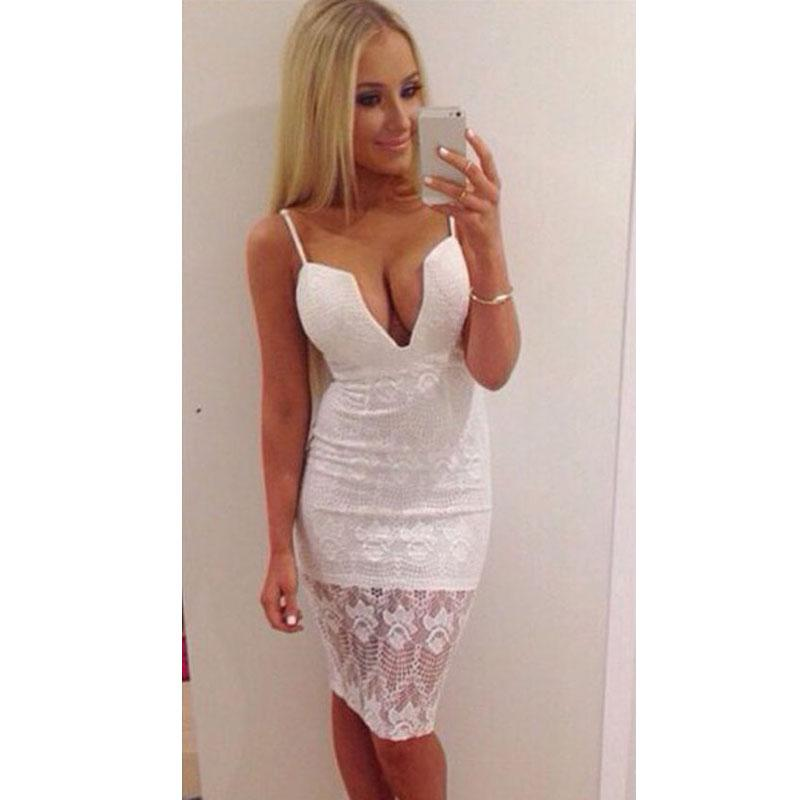 2017 Sexy Lace Party Club Dresses Plus Size Women Clothing Ladies ...