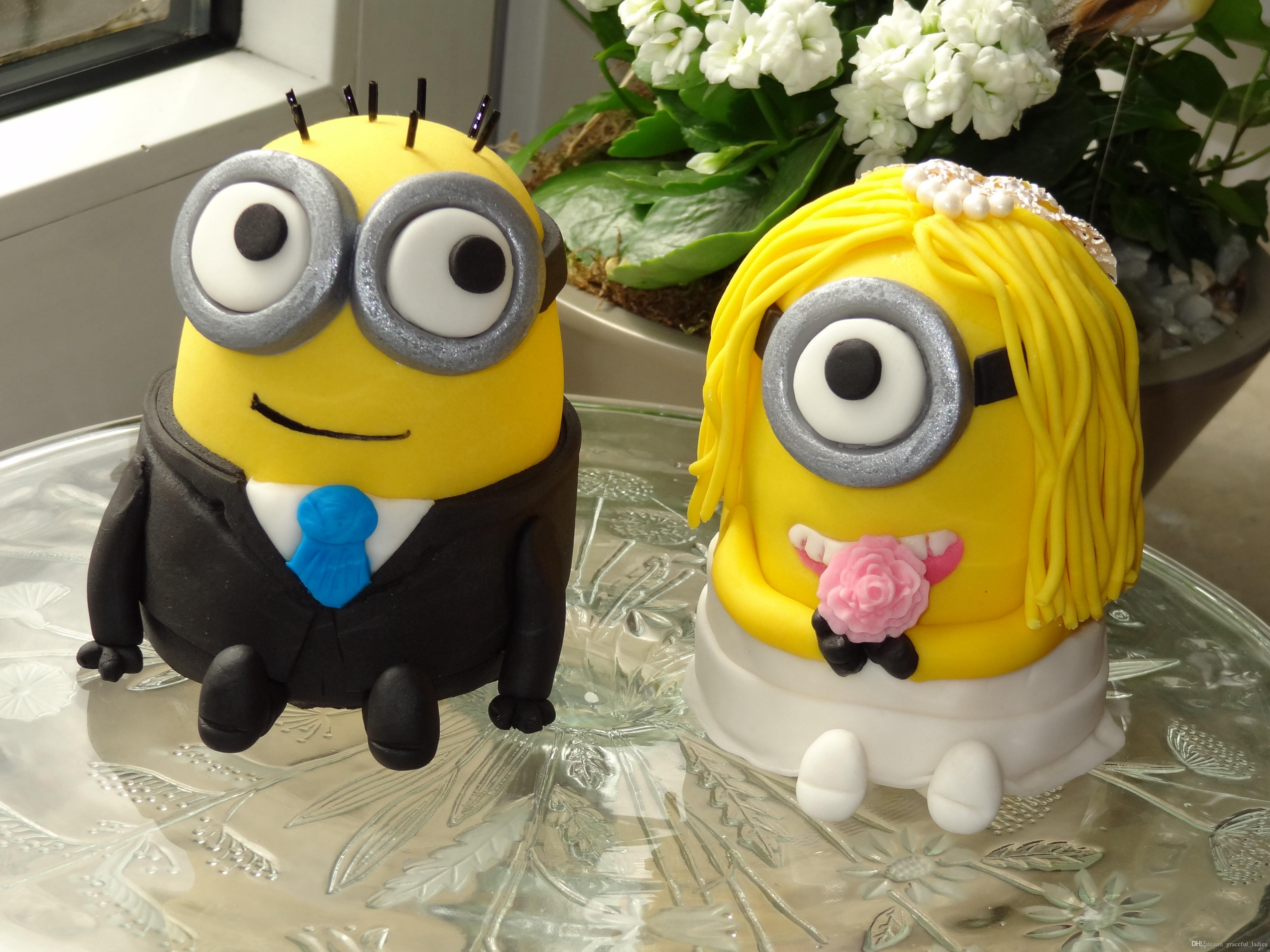 Cake Toppers Uk For Wedding Party Minions Wedding Dispicable