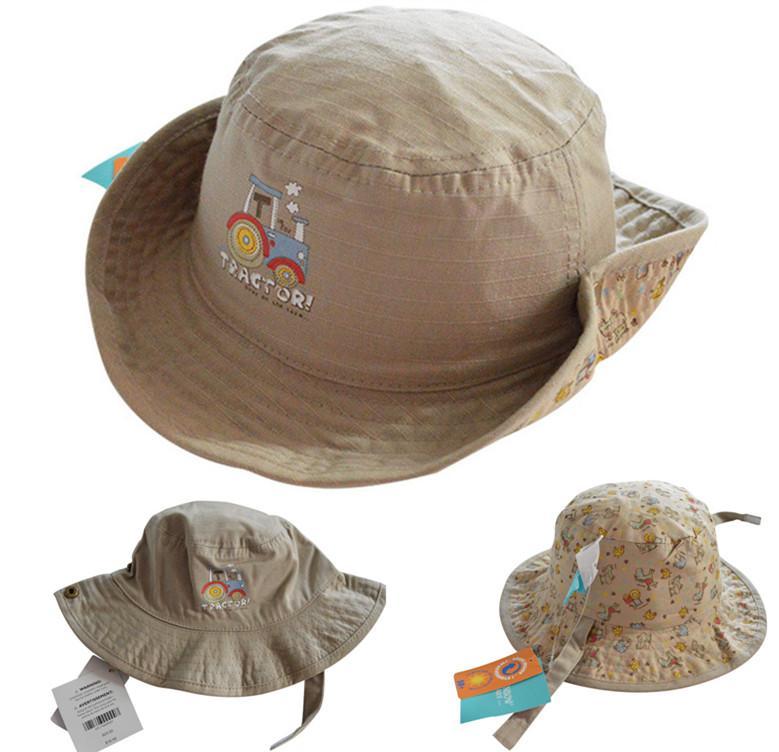 2017 new fashion baby bucket hats fishing cap children for Toddler fishing hat