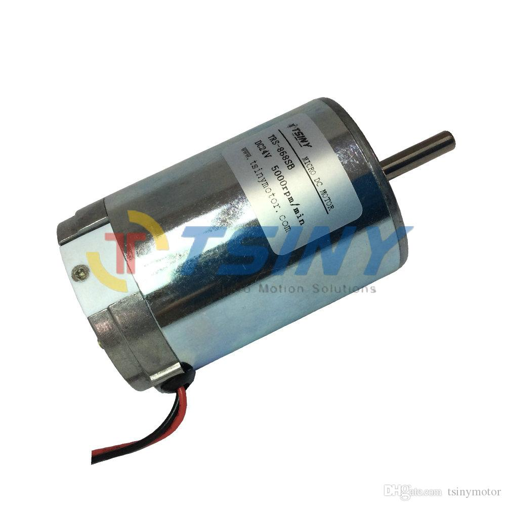 2017 small 24 volt dc electric motor 5000rpm micro brush for 24 volt dc motor high torque