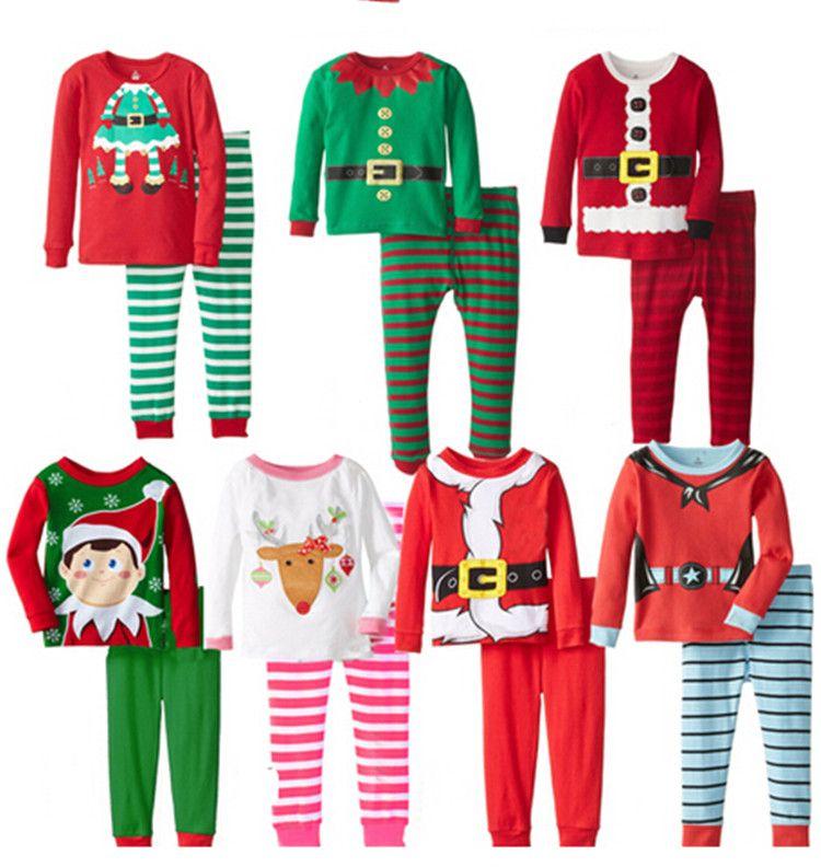 Baby Girls Boys Cute Christmas Design Pajamas Sleepwear Minions ...