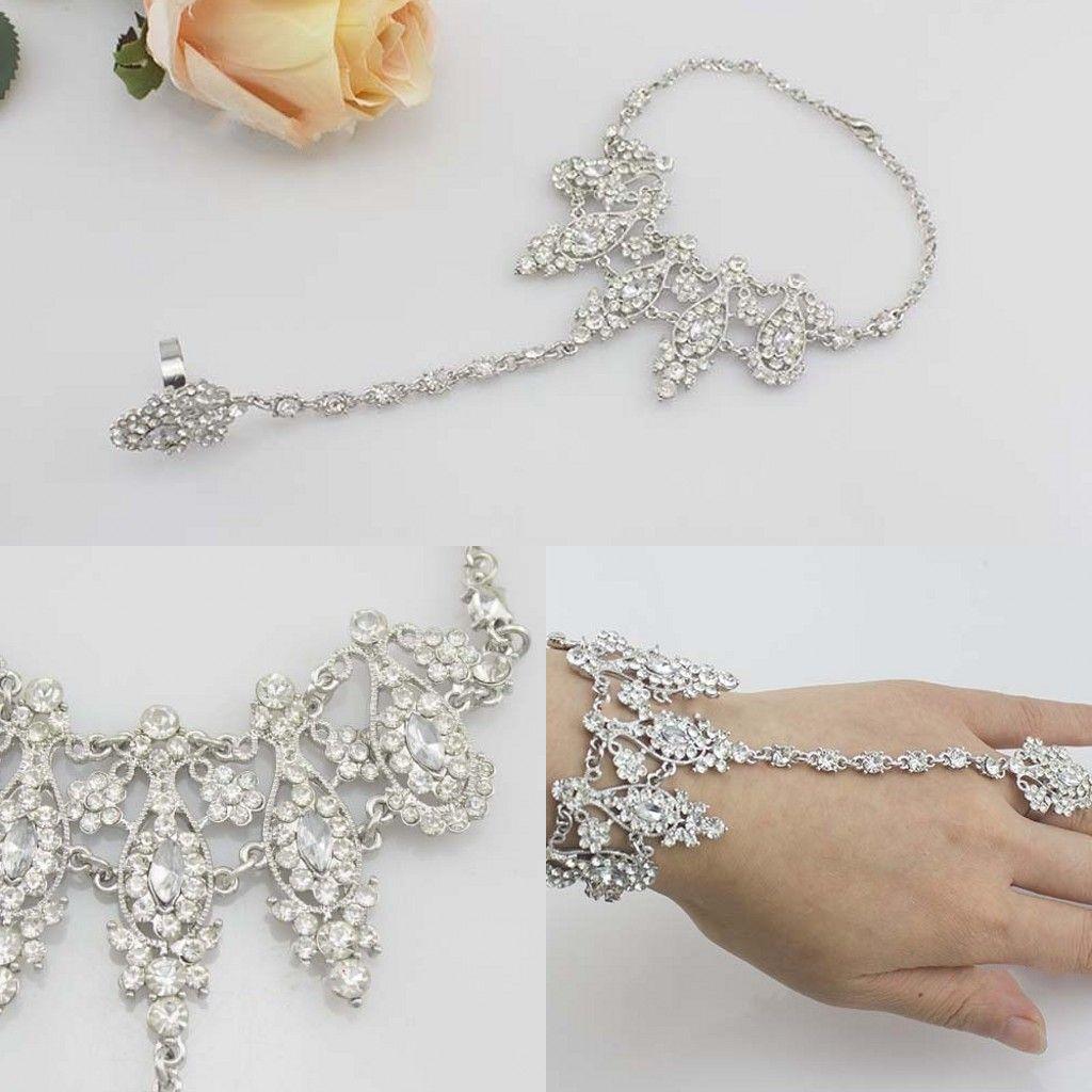 2016 luxury fashion bridal wedding bracelets jewelry