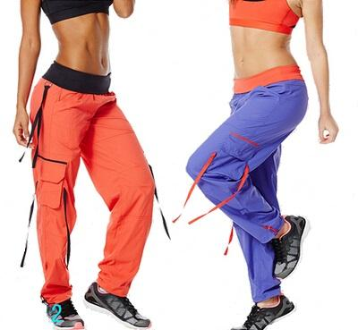 2015 New Women Soft-N-Stretch Cargo Pants Long Pants Violet/orange ...