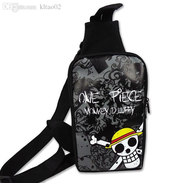 Wholesale Anime One Piece Duffy Cosplay Sling Bag Chest Bag Sling ...