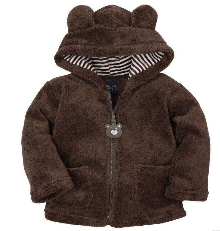 Carter Style Baby Hoodies New 2015 Baby Coat Autumn Winter ...