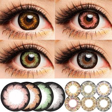 Prescription Colored Contacts Halloween awesome red colored contacts non prescription 4 halloween colored contact lenses for eyes Kumiko Miss Coco Halloween Contact Lens Big Diameter Fruitcolor Candy Color Contact Lenses Lens Prescription Lens