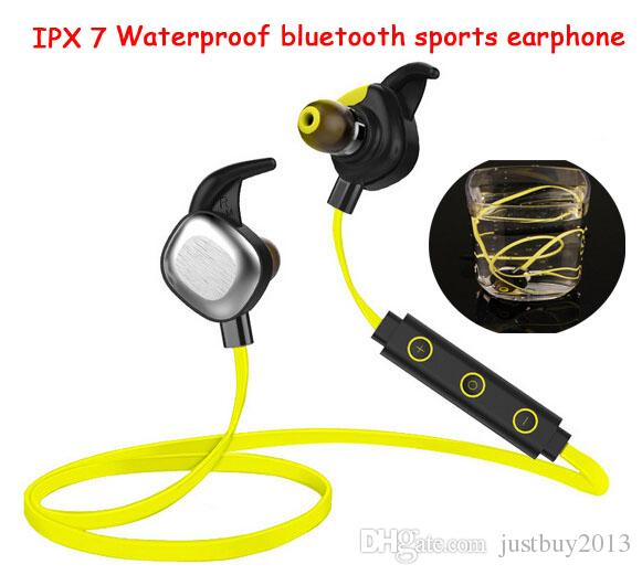 swimming earphone ipx7 waterproof bluetooth wireless headset 4 0 head mounted sport headphones. Black Bedroom Furniture Sets. Home Design Ideas