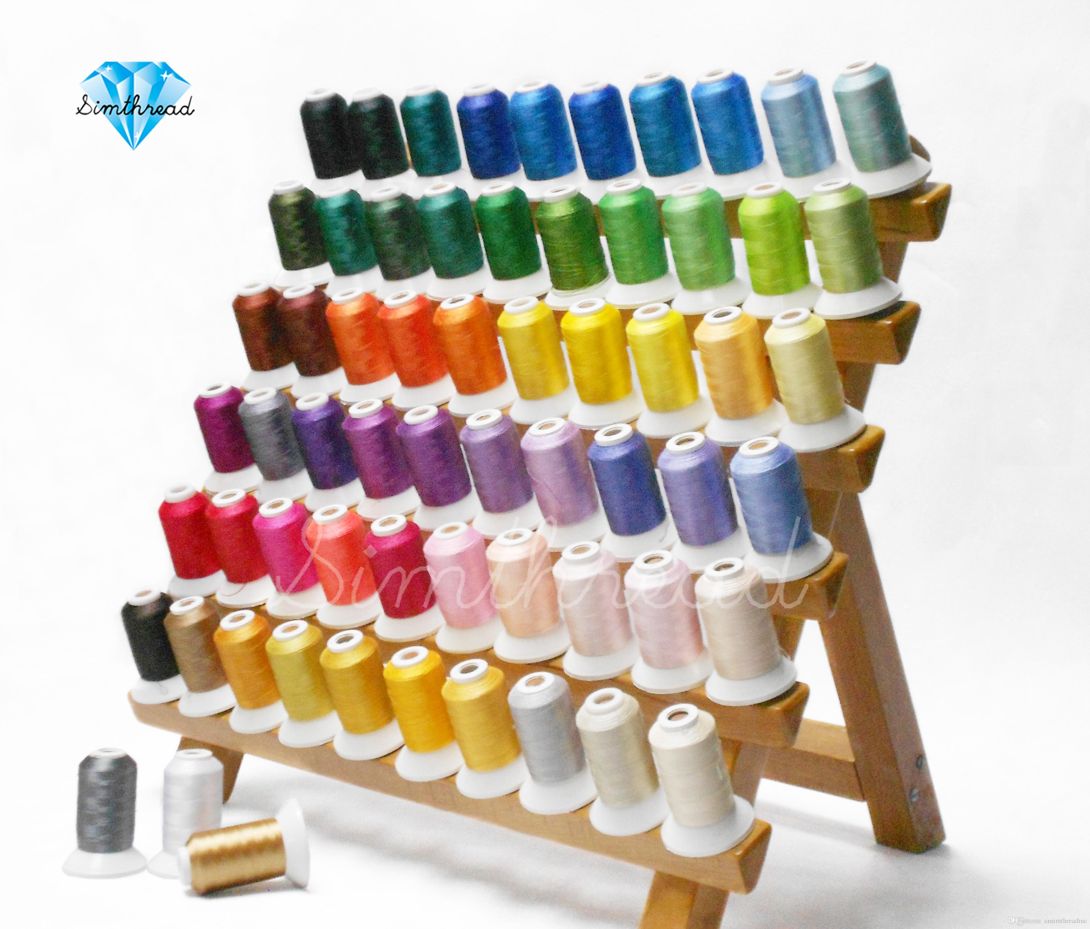 best thread for machine embroidery