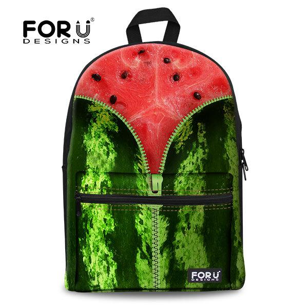 New Brand Jan Sport Backpack Pitaya School Bag Casual Bag Fruit ...