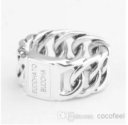 Pure Silver Rings Buddha to Buddha Ring 925 Pure