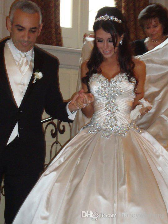 Vestidos De Noiva Wedding Dresses Ball Gown Designer New 2015 ...
