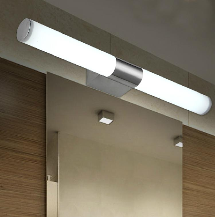 Bathroom Lighting Makeup makeup led mirror light modern stainless steel bathroom lamps
