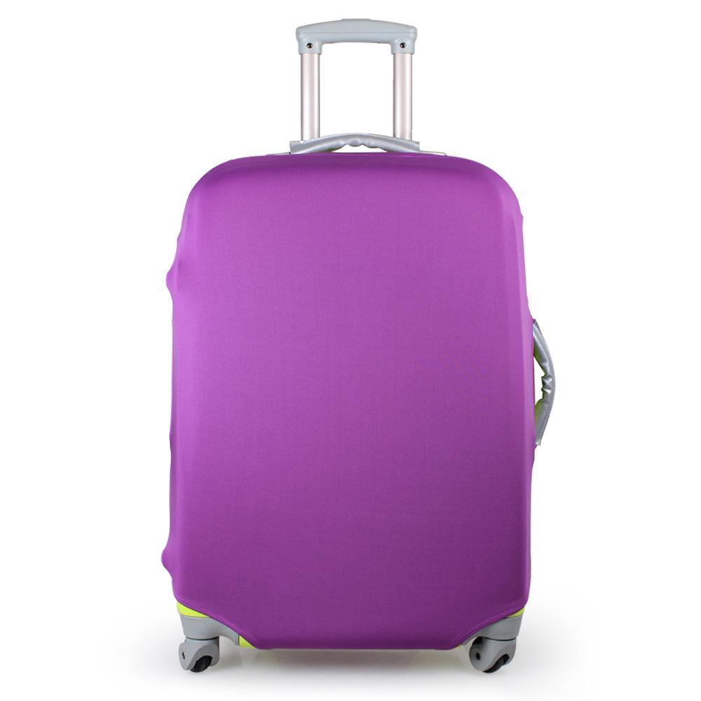 Purple Suitcase Cover Travel Luggage Cover Elastic Stretchy ...