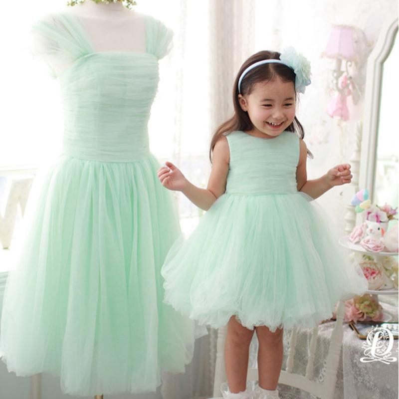 2015 mother daughter matching dresses a line crew neckline for Mother daughter dresses for weddings